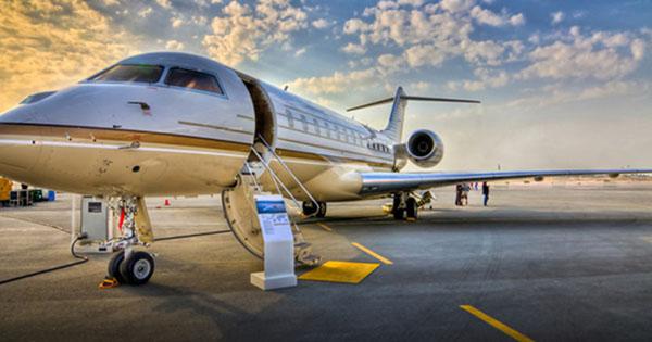 Aéroport en jet privé