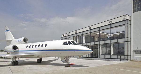Aéroport jet privé