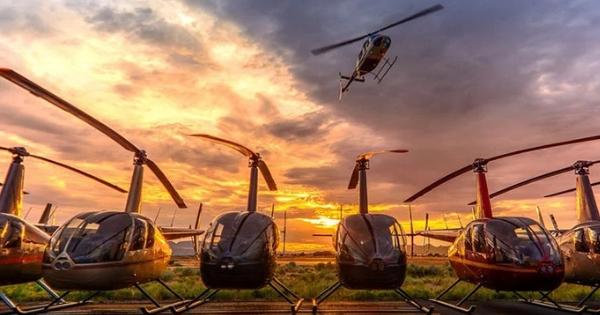 Facile de louer un hélicoptère